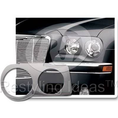 Headlights & Tail Lights - Headlight Covers - Restyling Ideas - Chrysler 300 Restyling Ideas Headlight Trim - 62812