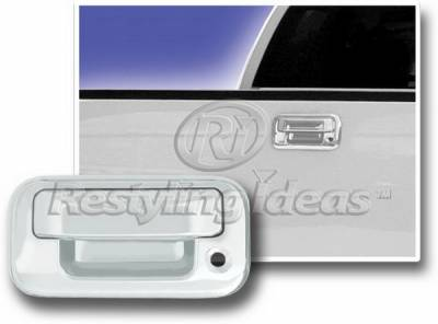 Suv Truck Accessories - Tail Gate Lock - Restyling Ideas - Ford F250 Restyling Ideas Tailgate Handle Cover - 65204