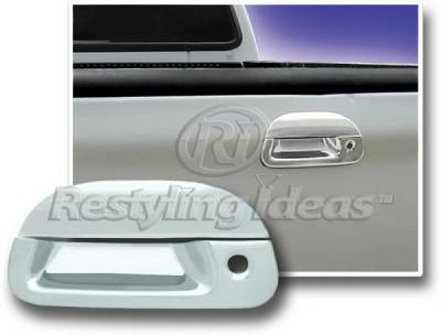 Suv Truck Accessories - Tail Gate Lock - Restyling Ideas - Ford F250 Restyling Ideas Tailgate Handle Cover - 65205