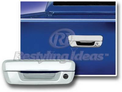 Suv Truck Accessories - Tail Gate Lock - Restyling Ideas - GMC Canyon Restyling Ideas Tailgate Handle Cover - 65206