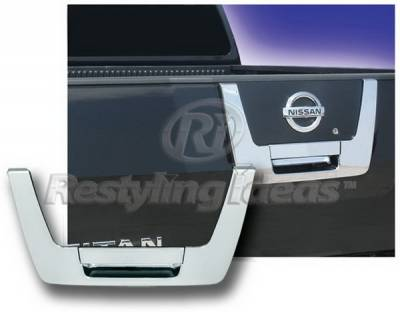 Suv Truck Accessories - Tail Gate Lock - Restyling Ideas - Nissan Titan Restyling Ideas Tailgate Handle Cover - 65211