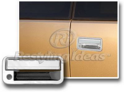 Escalade - Body Kit Accessories - Restyling Ideas - Cadillac Escalade Restyling Ideas Rear Door Handle Cover - 65217