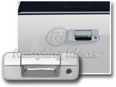 Suv Truck Accessories - Tail Gate Lock - Restyling Ideas - Toyota Tundra Restyling Ideas Tailgate Handle Cover - 65229