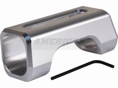 Car Interior - Hand Brakes - Silverhorse Racing - Ford Mustang Silverhorse Racing Satin Tru-Billet E-Brake Handle - 66202