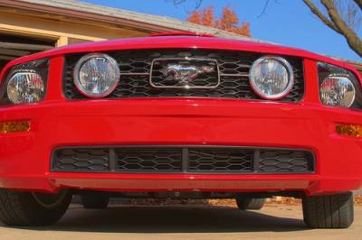 Silverhorse Racing - Ford Mustang Silverhorse Racing GT Style Lower Grille Inserts - 66305