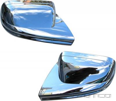 Mustang - Mirrors - Putco - Ford Mustang Putco Mirror Overlays - 400001
