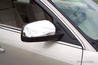 500 - Mirrors - Putco - Ford 500 Putco Mirror Overlays - 400005