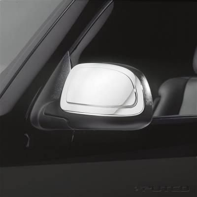 Sierra - Mirrors - Putco - GMC Sierra Putco Mirror Overlays - 400008