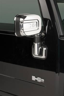 H2 - Mirrors - Putco - Hummer H2 Putco Mirror Overlays - 400025