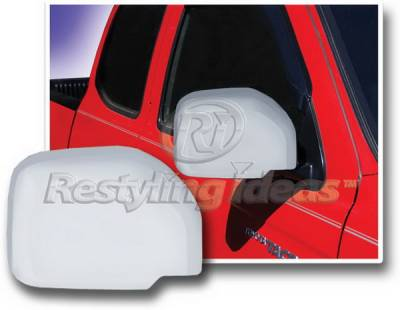 4 Runner - Mirrors - Restyling Ideas - Toyota 4Runner Restyling Ideas Mirror Cover - Chrome ABS - 67323