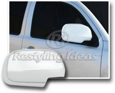 Tacoma - Mirrors - Restyling Ideas - Toyota Tacoma Restyling Ideas Mirror Cover - Chrome ABS - 67330
