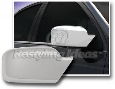 MKZ - Mirrors - Restyling Ideas - Lincoln MKZ Restyling Ideas Mirror Cover - Chrome ABS - 67331