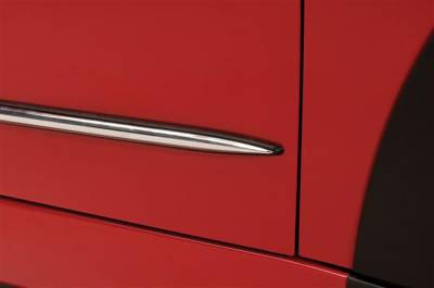 Cooper - Body Kit Accessories - Putco - Mini Cooper Putco Body Side Molding - Billet Aluminum - 400064