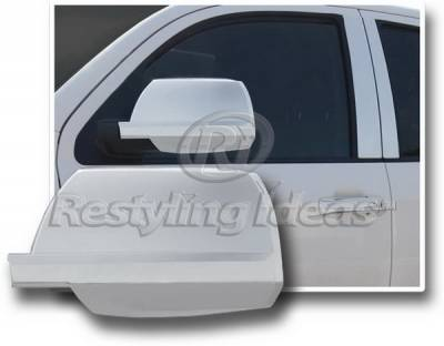 Tundra - Mirrors - Restyling Ideas - Toyota Tundra Restyling Ideas Mirror Cover - Chrome ABS - 67333
