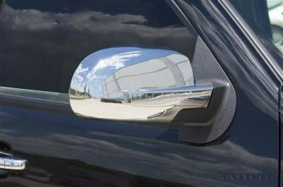 Sierra - Mirrors - Putco - GMC Sierra Putco Mirror Overlays - 400066