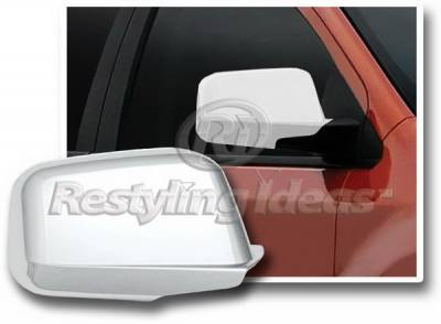 Edge - Mirrors - Restyling Ideas - Ford Edge Restyling Ideas Mirror Cover - Chrome ABS - 67341