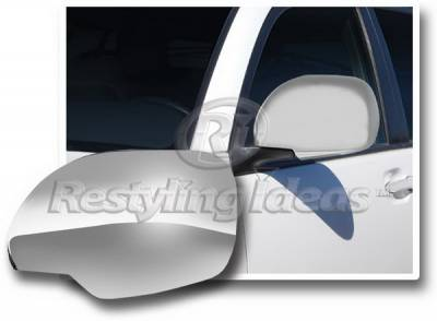 4 Runner - Mirrors - Restyling Ideas - Toyota 4Runner Restyling Ideas Mirror Cover - Chrome ABS - 67342