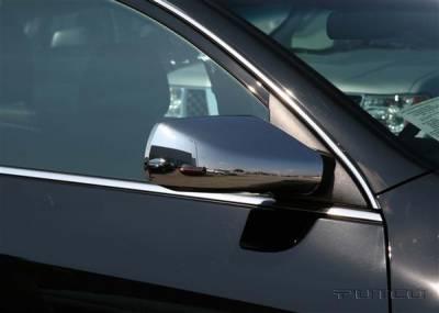 Altima - Mirrors - Putco - Nissan Altima Putco Mirror Overlays - 400115