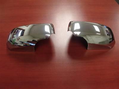 Maxima - Mirrors - Putco - Nissan Maxima Putco Mirror Overlays - 400117