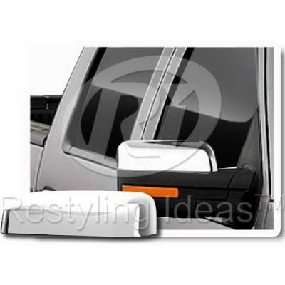 F150 - Mirrors - Restyling Ideas - Ford F150 Restyling Ideas Mirror Cover - 67358