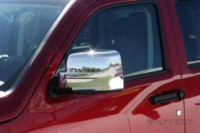 Nitro - Mirrors - Putco - Dodge Nitro Putco Mirror Overlays - 400120