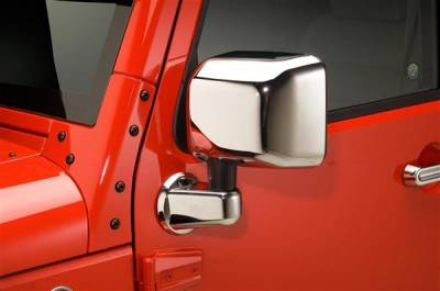 Wrangler - Mirrors - Putco - Jeep Wrangler Putco Mirror Overlays - 400121