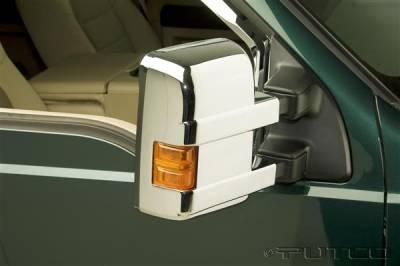 F250 - Mirrors - Putco - Ford F250 Superduty Putco Mirror Overlays - 400123
