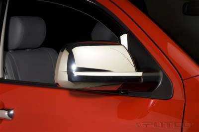 Tundra - Mirrors - Putco - Toyota Tundra Putco Standard Mirror Overlays - 400127