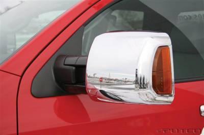 Tundra - Mirrors - Putco - Toyota Tundra Putco Towing Mirror Overlays - 400128