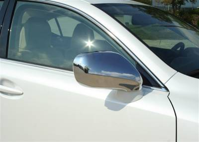 IS - Mirrors - Putco - Lexus IS Putco Mirror Overlays - 400135