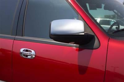 F150 - Mirrors - Putco - Ford F150 Putco Mirror Overlays without Reflectors - 400509