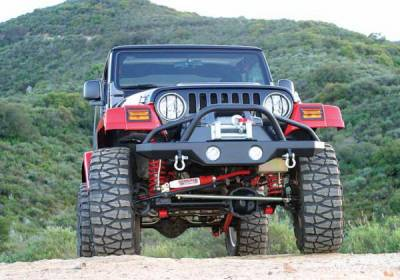 Wrangler - Front Bumper - Rampage - Jeep Wrangler Rampage Recovery Bumper - Front - 76505