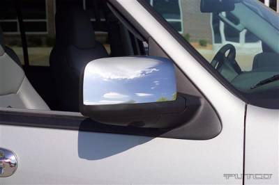Expedition - Mirrors - Putco - Ford Expedition Putco Mirror Overlays - 401111