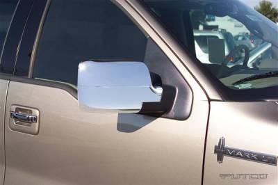 F150 - Mirrors - Putco - Ford F150 Putco Mirror Overlays - 401113