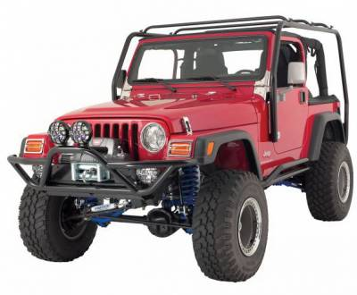 Wrangler - Front Bumper - Rampage - Jeep Wrangler Rampage SRS Front Bumper - 76721