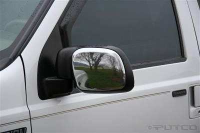 F250 - Mirrors - Putco - Ford F250 Superduty Putco Mirror Overlays - 401116