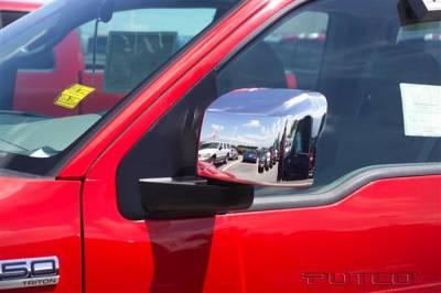 F150 - Mirrors - Putco - Ford F150 Putco Mirror Overlays - 401118
