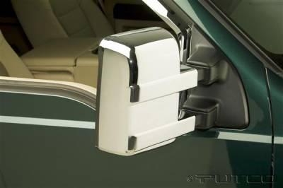 F250 - Mirrors - Putco - Ford F250 Superduty Putco Mirror Overlays - 401175