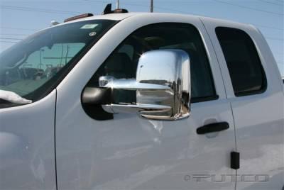Silverado - Mirrors - Putco - Chevrolet Silverado Putco Towing Mirror Overlays - 401273