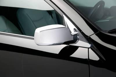 Sorento - Mirrors - Putco - Kia Sorento Putco Mirror Overlays without LED opening - 401703