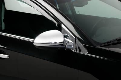 Cruze - Mirrors - Putco - Chevrolet Cruze Putco Mirror Overlays - 401716
