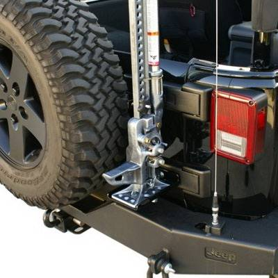 Wrangler - Body Kit Accessories - Rampage - Jeep Wrangler Rampage Rear High Lift Jack mount - 86612