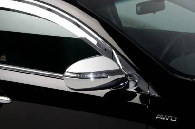 Sportage - Mirrors - Putco - Kia Sportage Putco Mirror Overlays - 401725