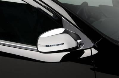 Optima - Mirrors - Putco - Kia Optima Putco Mirror Overlays with LED opening - 401732