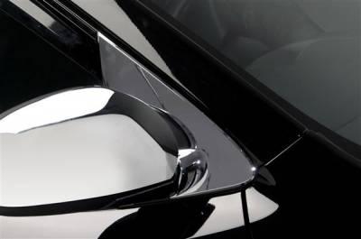 Optima - Mirrors - Putco - Kia Optima Putco Mirror Overlays without LED opening - 401733