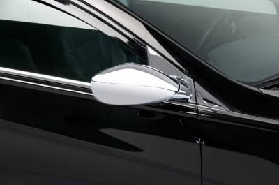 Sonata - Mirrors - Putco - Hyundai Sonata Putco Mirror Overlays without LED opening - 401753