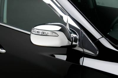 Tucson - Mirrors - Putco - Hyundai Tucson Putco Mirror Overlays with LED opening - 401764
