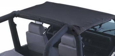 SUV Truck Accessories - Soft Tops - Rampage - Jeep CJ5 Rampage California Brief - Black - 90601