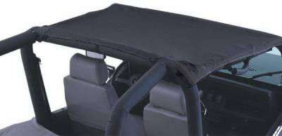 SUV Truck Accessories - Soft Tops - Rampage - Jeep CJ7 Rampage California Brief - Black - 90701