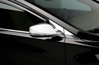 Elantra - Mirrors - Putco - Hyundai Elantra Putco Mirror Overlays - 401774